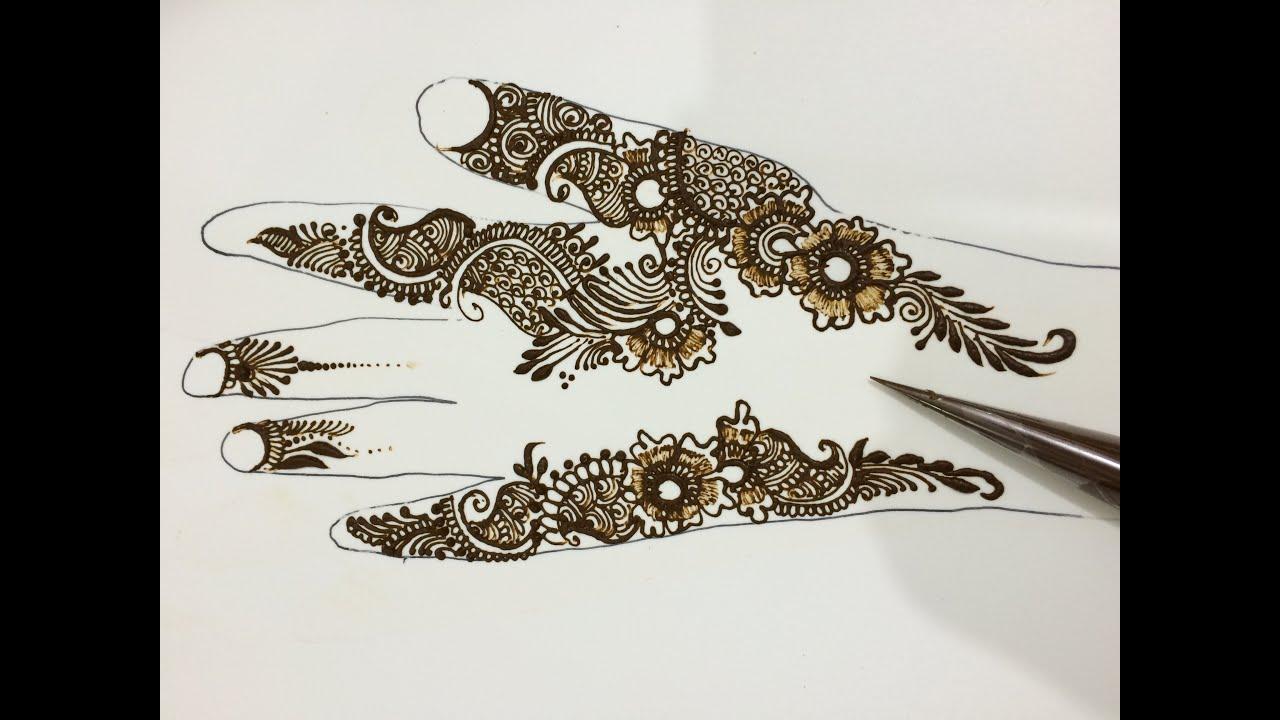 Mehndi Designs For Rakhi : Stylist henna mehendi for rakhi festival floral mehndi