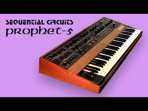 SEQUENTIAL CIRCUITS PROPHET-5 Analog Synthesizer | HD DEMO | NEW PATCHES