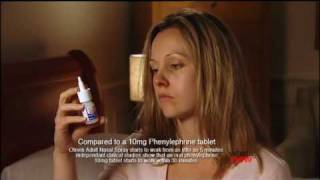 what s new otrivin nasal spray 2010 ad