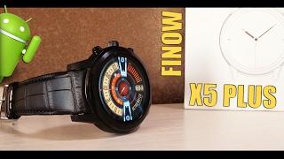 FINOW X5 PLUS - обзор смарт-часов (модернизация Finow X5 и аналог LEMFO LEM5)