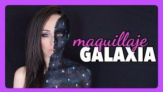 GALAXIA: Un maquillaje creativo