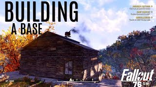 STARTING A BASE and Electricity - Building and More - Fallout 76 BETA
