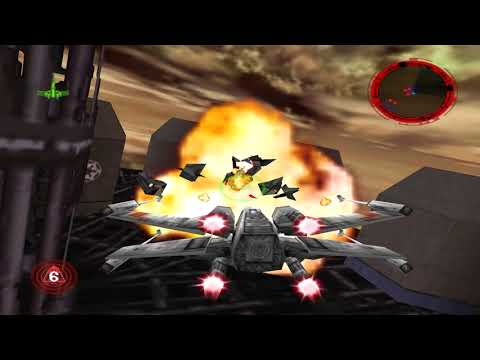 Rogue Squadron 3D - Battle Above Taloraan X-Wing 1:53 (WR)