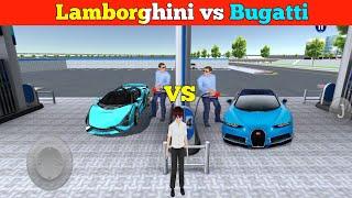Lamborghini VS BugattiNeed Fule Lamborghini And Bugatti Android IOSGameplay