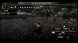 Monster Hunter Freedom Unite Tutorial 2 Weapons and Armour PSP video game
