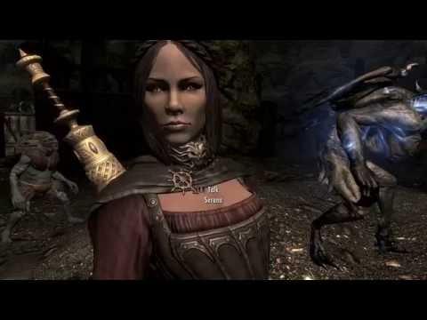 SKYRIM eps 259 An Entombed Female Vampire