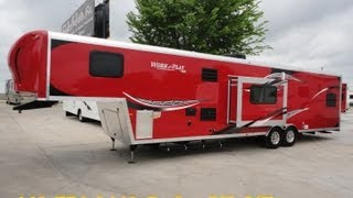 38ft 2014 Work And Play Fifth Wheel Toy Hauler That Is Perfect For Your Toy Haulin Needs!