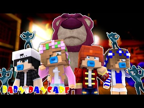 EVIL TOYS COME ALIVE & ATTACK US!Minecraft Baby Daycare w/LittleKellyandCarly.Raven&Leo(Roleplay)