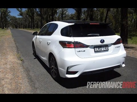 lexus ct 200h f sport 0 100km h engine sound youtube. Black Bedroom Furniture Sets. Home Design Ideas