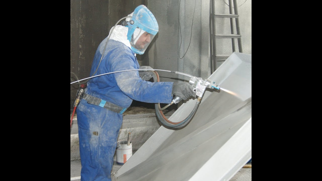 Metallisation Thermal Spray Aluminium Tsa Of
