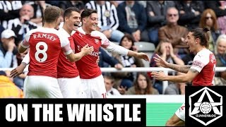 On the Whistle: Newcastle 1-2 Arsenal -