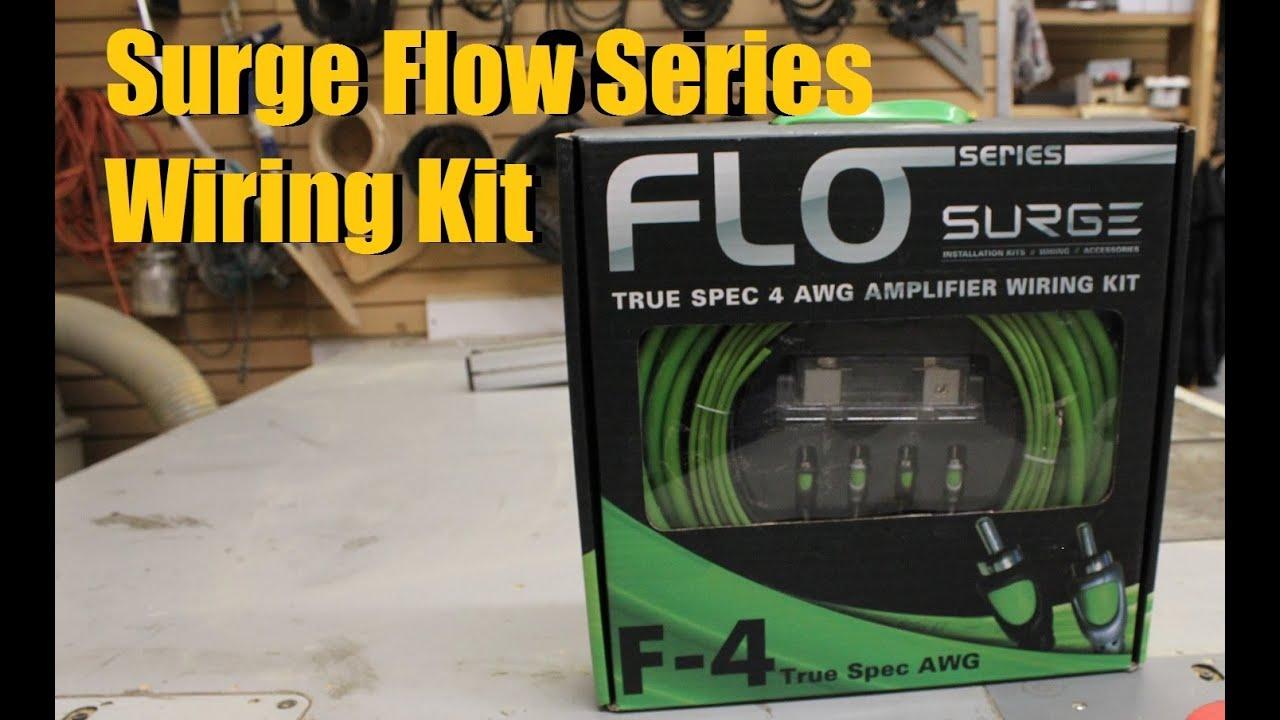 4 Gauge, 1,600 Watts Surge Installer Series Amp Installation Kit