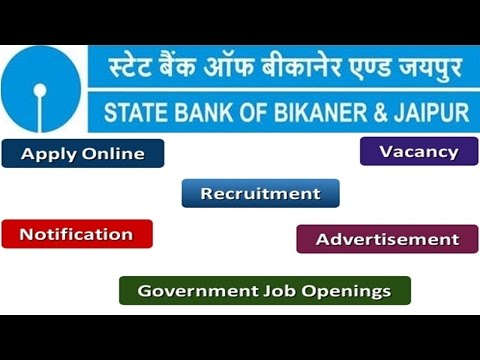 State Bank of Bikaner & Jaipur Recruitment Apply Online Notifications Careers Vacancy