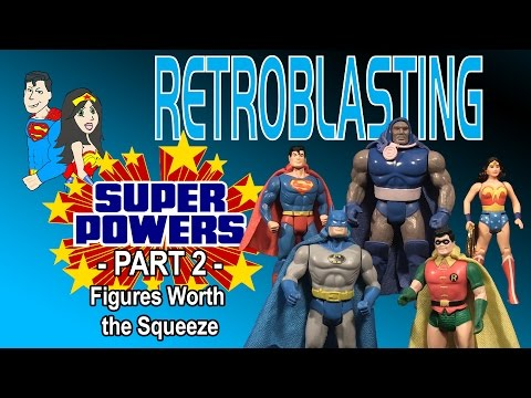 Super Powers: Part 2 - Vintage Toy Review Kenner 1984 Action Figures