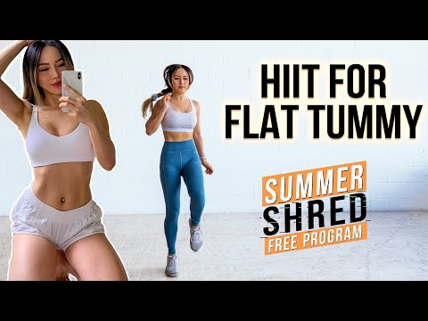 Quick & Effective HIIT Workout for Flat Tummy ✅ 15 min Calorie Burning