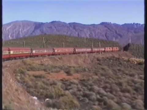 Trans Karoo Express over Hex River Pass 1989