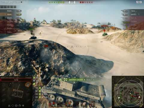 World Of Tanks - Detachments With My Clan