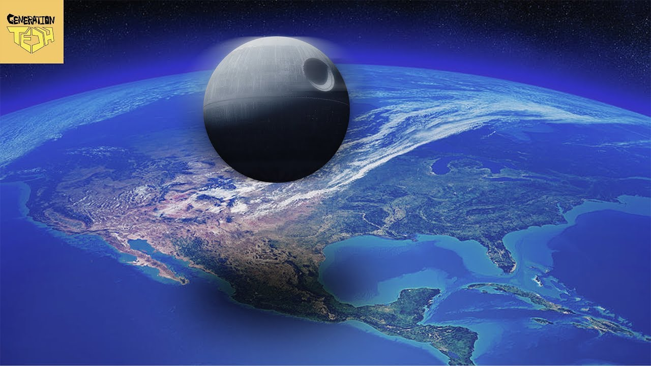 Death Star Versus Earth | How Humanity Would React - YouTube