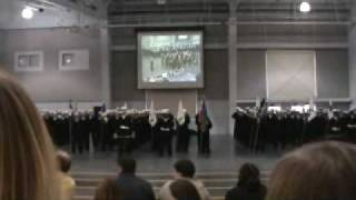 Navy Graduation Sailors Creed Drum Solo Navy Chorus 2009