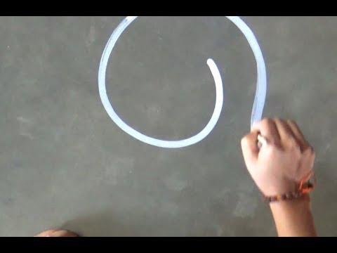 How to make easily santa claus cap/Christmas Special Rangoli