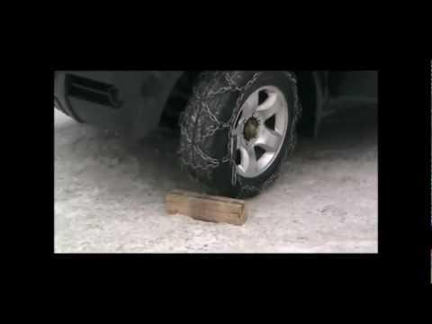 Цепи на колёса сотами