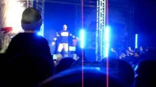 WWE RAW à Nantes entrée du Miz