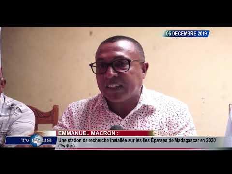 JOURNAL DU 05 DECEMBRE 2019 BY TV PLUS MADAGASCAR