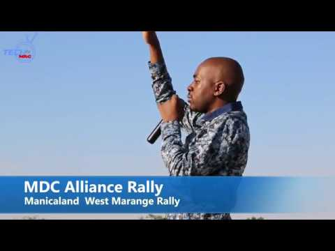 Chamisa On Fire in Marange  Manicaland Rally