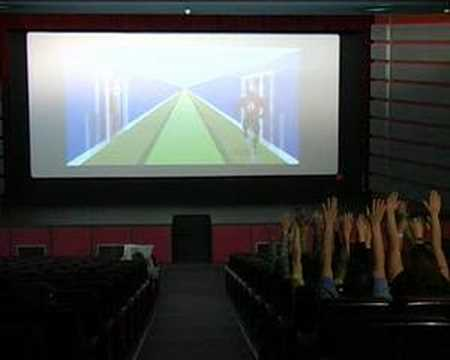 VodaRed Man - Interactive Cinema AdverGame