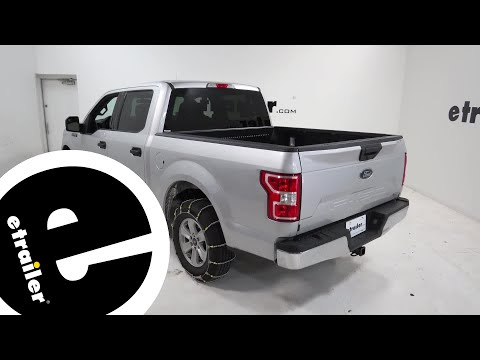etrailer   Glacier Cable Snow Tire Chains Review - 2018 Ford F-150