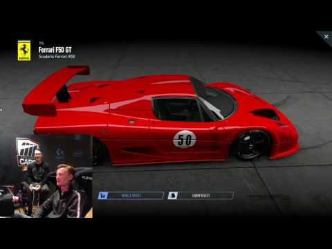 Project CARS 2 Developer Stream #2: Cars and Tracks