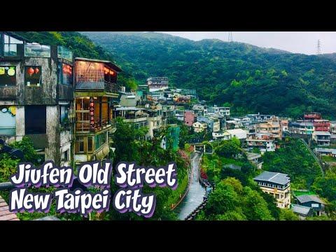 Jiufen Old Street, New Taipei City, TAIWAN. My Trip in Taipei TAIWAN!!!