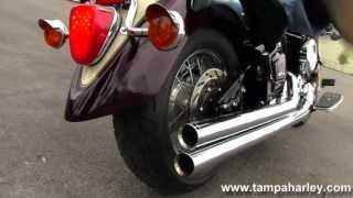 Used 2000 Yamaha Motorcycle  V Star 1100 Classic with Cobra Exhaust for sale