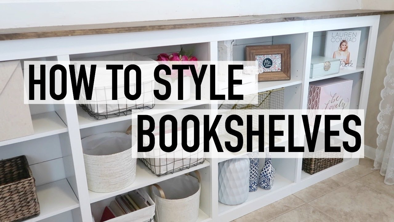 HOW TO STYLE YOUR BOOKSHELVES | VINTAGE u0026 RUSTIC CHIC | DECOR IDEAS & HOW TO STYLE YOUR BOOKSHELVES | VINTAGE u0026 RUSTIC CHIC | DECOR IDEAS ...