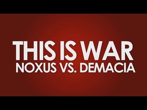 Falconshield - This Is War: Noxus vs Demacia *COLLAB*
