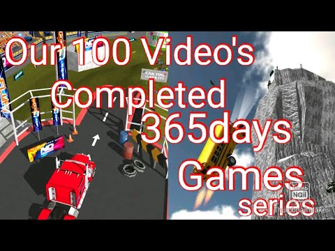 Stunt Truck Jumping full Crazy game - YouTube
