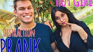 Hot Girl Distraction Prank | Ft. OhGeeLizzyP