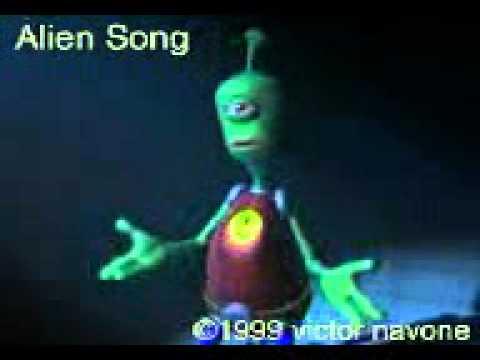 alien singing i will survive