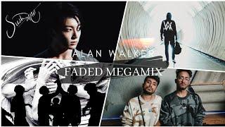 Faded Megamix - Sush & Yohan • Alan Walker • BTS • Irrfan K. - Rishi K.+