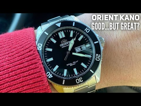 Orient Kano Dive Watch Review - New Orient Dive Watch