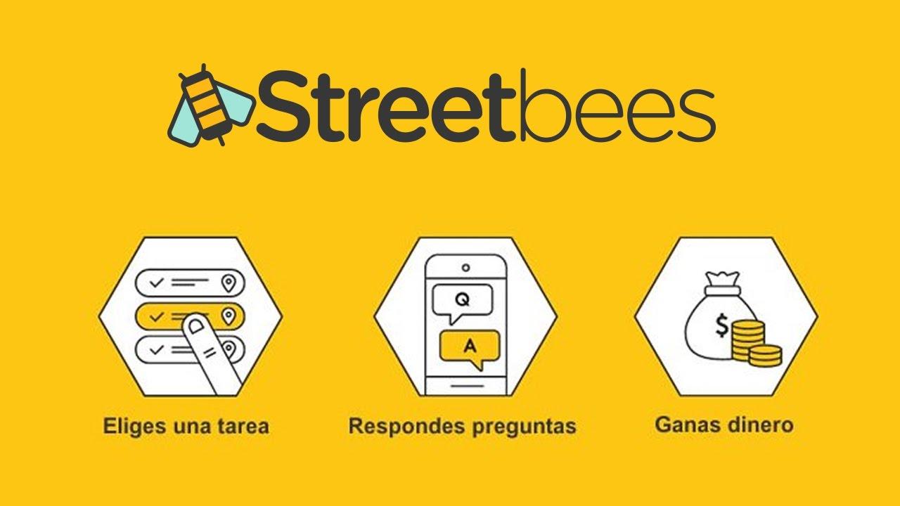 STREETBEES - Gana dinero con encuestas y tareas simples - YouTube