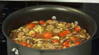 Philadelphia: Gluten Free Elbows With Mixed Mushrooms And Italian Sausage Soup