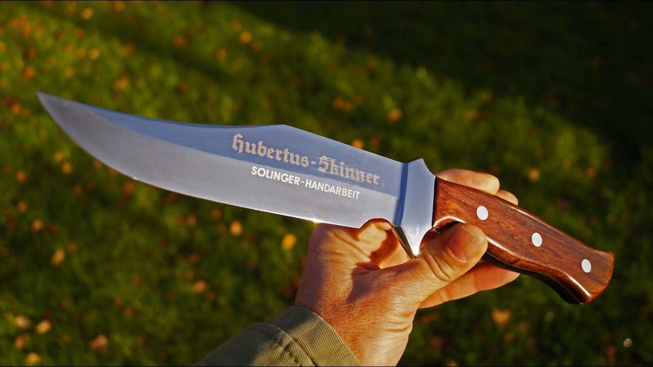 hubertus skinner jagd messer integral bowie knife solingen germany linder rocky mountain bowie. Black Bedroom Furniture Sets. Home Design Ideas