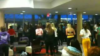 FlashMob at Wilfrid Laurier University