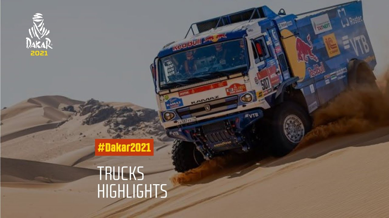 #DAKAR2021 - Truck Highlights