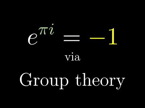 Euler's formula with introductory group theory