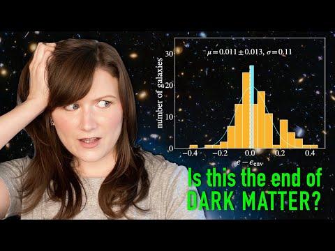 New evidence AGAINST dark matter?!
