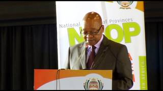 President Jacob Zuma addresses NCOP in Soshanguve