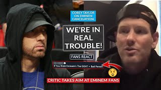 """Corey Taylor On Eminem Cancelation Drama """"Is That Where We Are Right Now?"""", Fans Can't Believe Claim"""
