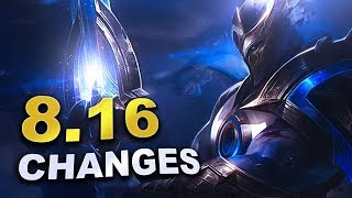 Massive new changes coming soon in Patch 8.16 (League of Legends)
